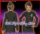 FANCY DRESS # LADIES 1940'S WARTIME OFFICER LG 16-18